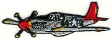 Tuskegee Airmen P-51 Mustang Warbird Fighter Plane Patch