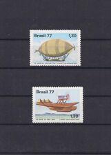 Brazil 1977 Pax Flight & Jahu Transatlantic Crossing Anniv V/Fine MNH  Classics