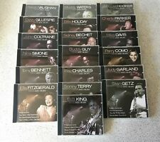 Lot of 19 Ultimate Jazz & Blues CDs Gillespie, Hooker, Getz, Fitzgerald, Garland