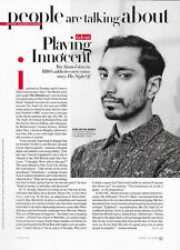 Riz Ahmed Article/Clipping Vogue July 2016