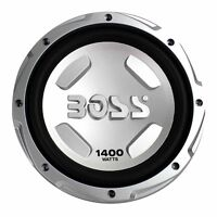 Boss Audio Chaos 12 Inch 1400 Watt 4 Ohm Car Audio Power Subwoofer | CX122