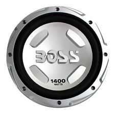 Boss Audio Chaos 12 Inch 1400 Watt 4 Ohm Car Audio Power Subwoofer CX122