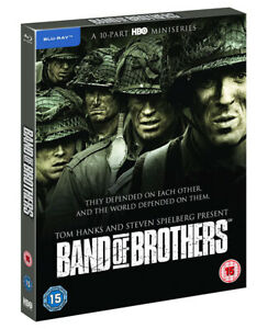 BAND OF BROTHERS [Blu-ray] Complete 10-Part HBO Miniseries Tom Hanks, Spielberg
