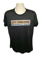 City Challenge Obstacle Race Womens Black XL Jersey