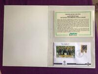 FOLDER 1996  JUVENTUS CHAMPIONS LEAGUE 1995/1996 CERTIFICATO BOLAFFI