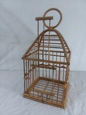 Rattan birdcage