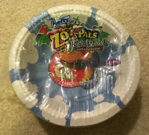 Rare Hefty Zoo Pals Rainforest Collection Bowls 20 Animals Plates Kids Party NEW