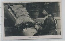 More details for malta postcard gozo laceworker c1910 by farrugia
