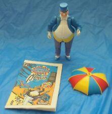 DC Super Powers Collection The Penguin Action Figure + Umbrella Mini Comic 1984