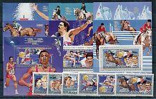 Guinea 1012/17 Block 121/27 A postfrisch / Olympiade ......................1/493