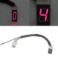 Motorcycle Meter Shift Lever Gear Indicator LED Display Digital Lever Sensor