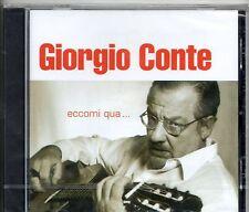 GIORGIO CONTE CD  ECCOMI QUA  nuovo sigillato 1999 SEALED