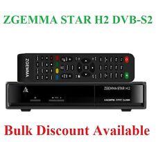 Zgemma Star H2 DVB-S2 / Dvb-t2 / DVB-C satélite y terrestres Combo sustituir H1