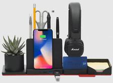 12-in-1 Modular Desk Organizer w/Wireless Charger USB Hub 15%+ Off Amazon Price!