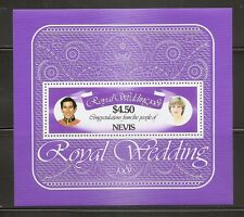 Nevis Sc # 141 1981 Royal Wedding. Mnh.