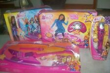 Winx Club Rock Star Guitar/ Microphone/Groove and Glow Dance Mat/ Concert Stage
