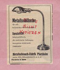 PFORZHEIM, Werbung 1942, Metallschlauch-Fabrik vorm. Hch. Witzenmann GmbH