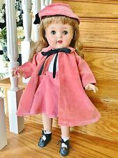 "Vintage 1940 All Composition Ideal ? Girl Baby Doll 19"" Nancy Arranbee Beautiful"