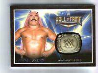 WWE Iron Sheik 2016 Topps RTWM Commemorative HOF Ring Relic Card SN 182 of 299