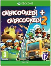 Overcooked 1 and Overcooked 2 (Xbox One) Free UK P&P New & Sealed UK PAL