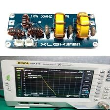 1KW 1-30 MHZ Low pass filter coupler LFP for FM-Sender HF-Power Verstärker