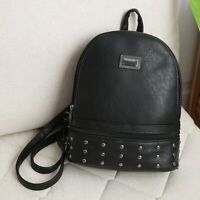 Women's Fashion Backpack PU Leather Handbag Rucksack Shoulder School Bag