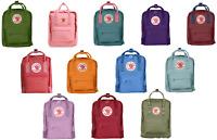 Fjallraven Kanken Kids Backpacks F23551(Orange, Pink, Blue) Brand New USA Seller