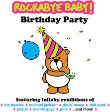 Rockabye Baby - Birthday Party [New CD]
