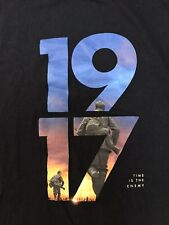 New listing 1917 Collectible T-Shirt Black Short Sleeve Size Medium Time Enemy Movie Poster