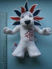 Pride The Lion London Olympic Games 2012 Team GB Official Mascot Plush toy