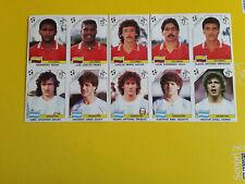 Fogli Calciatori Panini Italia 90 sheet 10 sticker Argentina Colombia New