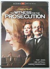 The Witness for the Prosecution (Dvd, 2017) New/Sealed w/ Damaged Jacket/Sleeve