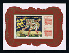 # 4905c (2014) Circus Posters Souvenir Sheet - Imperforate