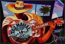 Taj Mahal Poster w/ Dan Hicks & The Acoustic Warriors 1996 Concert