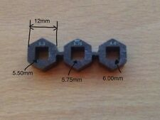 3 Different Sizes Tuning Piano Tools For 5.5mm Pins 5.75 Mm And 6.00 mm. New new