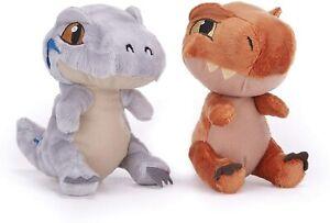 "Jurassic World 7"" Plush Cute Blue and T-Rex By Posh Paws"