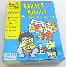 NEW Rainbow Recipes Children's Kids Science Project Learning Kit Color Mixology