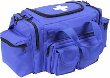 EMT EMS Paramedic Medic Medical Rescue  BLUE Trauma Backpack Shoulder Bag Kit