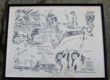 1976 Bully Hill Wine Co. Laver-Emerson Tennis Poster - Sea Pines Hilton Head, SC