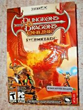 Dungeons & Dragons Online: Stormreach [DVD-ROM] (PC, 2006) Sealed Box - Free S&H