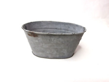 Mini Chartwell Vintage Metal Trough Herb Garden Pot Planter or Wedding Favour 3x P927