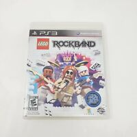 LEGO Rock Band (Sony PlayStation 3, 2009) PS3 Tested Working Genuine Authentic