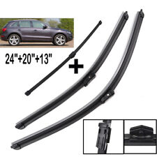 "Fit For Audi Q5 2008-2017 Front Rear Windshield Wiper Blades Set 24"" 20"" 13"""