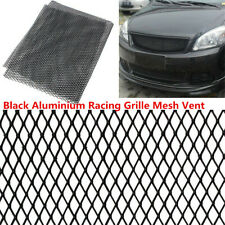 12x6mm Silver Universal Aluminum Car Vehicle Body Grille Net Mesh Grill Section