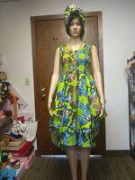 African Wax Dress