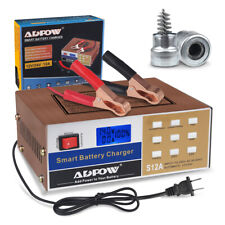Car Battery Charger 12v 24v 10A Full Automatic Electric with Cleaning Brush