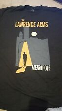 The Lawrence Arms Black Snow Punk Rock Band Men/'s Black T-Shirt Size S to 3XL