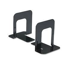 Universal Economy Bookends Standard 4 3/4 x 5 1/4 x 5 Heavy Gauge Steel Black