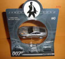 James Bond 007 Corgi Aston Martin Vanquish Coche de Metal Juguete Plata Pierce