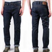 Diesel Herren Regular Slim Fit Raw Denim Jeans Hose - Braddom 0088Z - W27, W28
